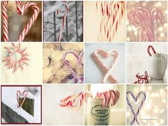 candy cane inspiration by Cottage 960, via Flickr