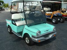 Now this is a golf Cart I can get excited about!!!