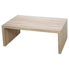 Wood Parsons Cocktail Tables. It is simple, unique, practical and it is functional as well as decorative. Will make a lovely addition to your home. Made of wood