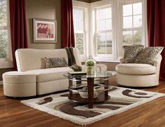 10 idee per il colore delle pareti in soggiorno - Soggiorno color fango