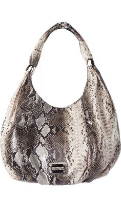 Bombay Hobo by Kenneth Cole. Totally digging the snakeskin.