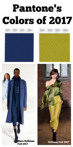 New York and London designers take on Pantone's Colors of 2017