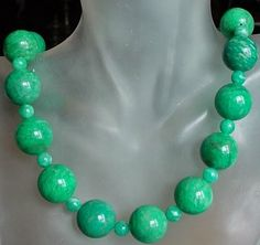 Green Russian Amazonite Necklace  Green Russian by camexinc, $50.00