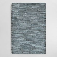 One of my favorite discoveries at WorldMarket.com: Blue Sahara Plains Indoor Outdoor Area Rug