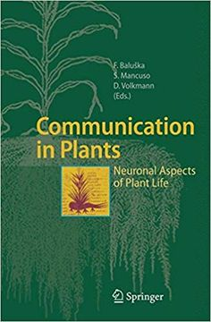 Communication in Plants: Neuronal Aspects of Plant Life Forms Of Communication, Plant Science, Ecology, This Book, Music, Books, Life, Authors, Backgrounds