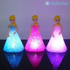 Noční LED lampička Elza / Anna Ledové království (Frozen)