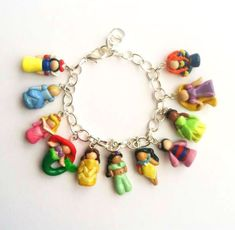 princess charm bracelet!!!