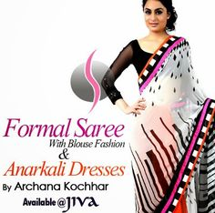 Archana Kochhar Formal Saree Anarkali Dresses With Blouse Fashion - She9 | Change the Life Style