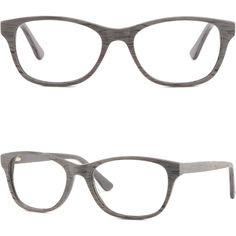 5a666ebe8f58 Rectangular Men s Women s Plastic Frame Spring Hinges RX Glasses Wood Grain  Gray  Unbranded Prescription Glasses