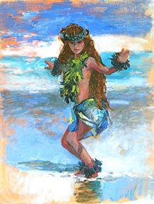 hawaiian scene paintings   Plein Air Landscape and Figure Painting Online Fine Art Gallery