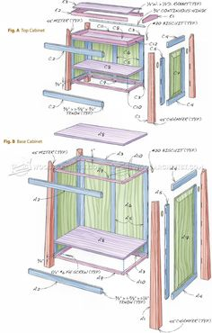 Tool Storage Cabinet Plans - Workshop Solutions