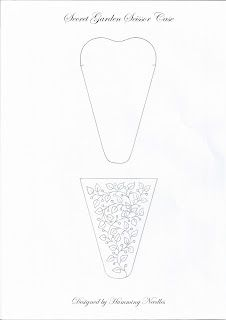 Humming Needles: Scissor Case - The Pattern