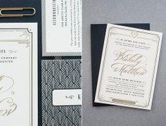 Carina Skrobecki and Lizzy Showman | Blakely & Matthew Wedding Materials | designworklife