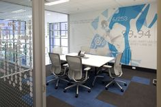 ^>Asics Australian offices, designed by There Design & Watermark Architecture *