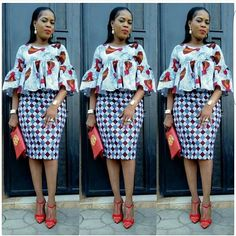 While you are working we discovered that the Ankara styles are getting much better, some you can rock to work no questions asked while others African Fashion Ankara, Latest African Fashion Dresses, African Print Fashion, Africa Fashion, Short African Dresses, African Blouses, African Print Dresses, African Prints, Short Dresses