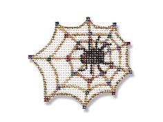 Halloween Needlepoint - Spider Web canvas - 18 mesh $16.00