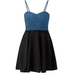 Cameo Rose Blue Sequin Lace Sweetheart Neck Skater Dress ($13) ❤ liked on Polyvore featuring dresses, vestidos, robe, lace dress, blue cocktail dress, blue fit and flare dress, blue dresses and sequin cocktail dresses