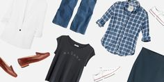 5 Easy Outfits You May Not Realize You Already Have in Your Closet. Before you spend money refreshing your wardrobe, check out these outfit ideas you may have forgotten.