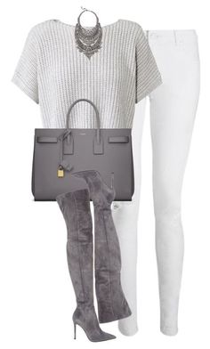 Casual Outfit in Weiß und Silber (Farbpassnummer 2) Kerstin Tomancok / Farb-, Typ-, Stil & Imageberatung #classyoutfits