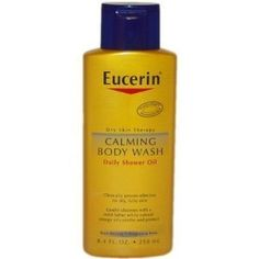 Best of the Best - Body Wash - Eucerin Calming Body Wash Daily Shower Oil -- fl oz Eucerin Body Cleanser, Omega Oils, Essential Oils For Skin, Body Love, Skin So Soft, Body Wash, Bath And Body, Calming, Rome