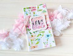 """MoNa Design Скрапбукинг: Вдохновение от Оли.Lelya. Мини альбом """"LOVE"""""""