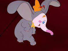 Disney's Dumbo: Screen Capture: Dumbo Disney, Disney Art, Disney Pixar, Walt Disney, Cute Disney Characters, Disney Films, Snow White Disney, Wallpaper Iphone Disney, Pink Elephant
