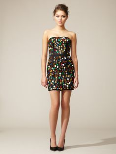 D rhinestone dress