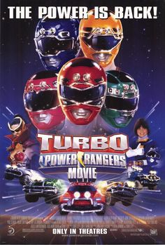 Turbo: A Power Rangers Movie (1997).