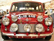 1965 Monte Carlo Rally winner: 1964 Morris Mini Cooper S