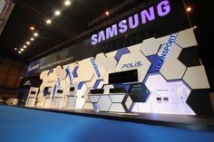 Samsung Techwin - Exhibition Stand on Behance