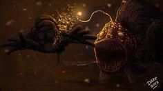 Deep Sea Monster by daregb.deviantart.com on @deviantART