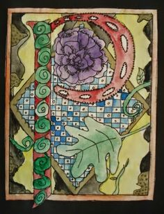 My Grade 6 students are in the middle of a Medieval Art unit. They recently finished up their illuminated initials. I started off by sh...