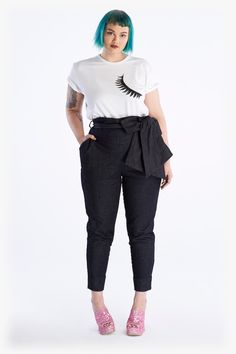 Klaus Denim Pants by Beth Ditto