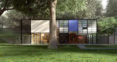 Eames Case Study House #8 Goes Tiny   Ultra Modern Tiny House