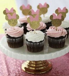 Minnie Mouse Birthday Party Ideas & Photo 1 of 15 Minnie Mouse Birthday Party Ideas & Photo 1 of 15 The post Minnie Mouse Birthday Party Ideas Minnie Mouse Birthday Decorations, Minnie Mouse First Birthday, Minnie Mouse Pink, Minnie Mouse Favors, Baby Mickey, Mickey Party, Pirate Party, Birthday Cupcakes, 1st Birthday Parties