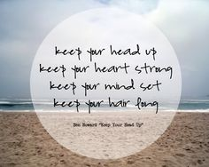 "Ben Howard ""keep your head up"" -- love this song :)"