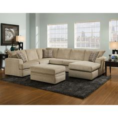 Cardiu0027s Furniture - 3PC.SECTIONAL - 2099.99 - 100811226 | Family Room | Pinterest | Room  sc 1 st  Pinterest : cardis sectionals - Sectionals, Sofas & Couches