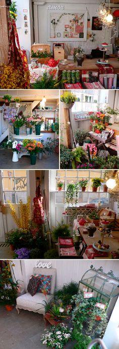 Elisabeth Blumen / ¡quiero tener una tienda así!