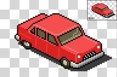 Pixel Art Car Tutorial Image 6