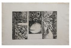 One Kings Lane - Abstract Etching, Greenberg