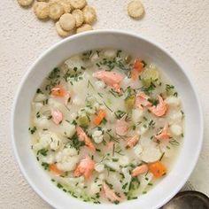 Salmon Chowder - EatingWell.com