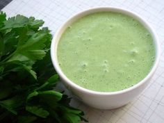 Green Goddess Salad Dressing- orig a 1923 Philip Roemer recipe from San Francisco's Palace Hotel