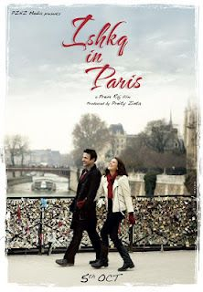 "Preity Zinta's ""Ishq in Paris"" Movie New Poster 