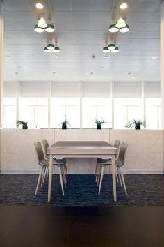 Canteen - MTG's office interior design in Copenhagen - by Danielsen Spaceplanning