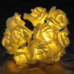 Check out this Battery Operated Warm White Rose Lights (17831)