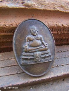 SUNGAJAY THAI TRADITIONAL COPPER COIN BUDDHISM BUDDHA LUCKY AMULET