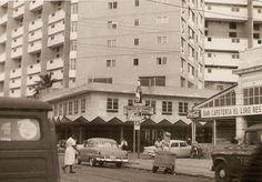 """El focsa a fines de los años 50, obsérvese a la derecha que aun no se había construido el restaurante """"el conejito"""""""