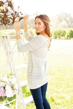 Lauren Conrad for Kohl's- Holiday 2011 Collection: love the detail of the sweater