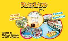 Espectacular descuento... El parque más completo del país Play Land Park
