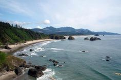The fact that all 350+ miles of the incredibly beautiful Oregon Coast are PUBLIC land and unspoiled by development. No PRIVATE beaches in Oregon.